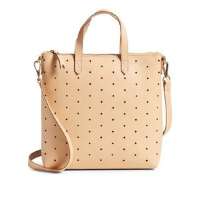 NWOT Madewell Mini Perforated Leather Crossbody